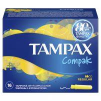 TAMPAX COMPAK Тампони нормални, 16 бр.