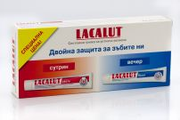 LACALUT ACTIVE+FLUOR Паста за зъби, 2X75 мл.