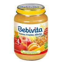 BEBIVITA Пюре различни плодове 1004, 190 гр