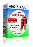 ABOPHARMA Магнезий 250 мг., 30 табл.