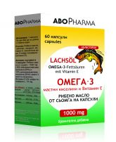 ABOPHARMA Омега 3 рибено масло 1000 мг., 60 табл.