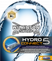 WILKINSON SWORD HYDRO 5 CONNECT Резервни ножчета, 2 бр.