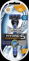 WILKINSON SWORD HYDRO 5 CONNECT Мъжка система за бръснене с 5 ножчета, 1 бр.