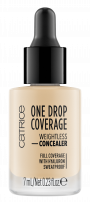 CATRICE ONE DROP COVERAGE Коректор плътно покритие 005 light natural , 7 мл.