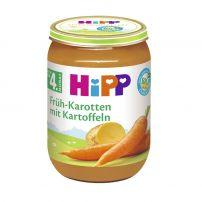 HIPP BIO Пюре нежни моркови и картофи 4110, 190 гр