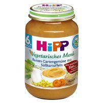HIPP BIO Вегитарианско меню градински зеленчуци и картофи 6215, 190 гр