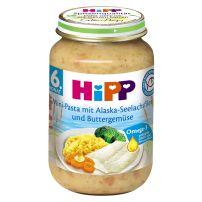 HIPP Рибно меню паста с филе от треска и зелечуци 6275, 190 гр