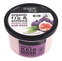 ORGANIC SHOP Маска за коса гръцка смокиня, 250 мл.