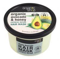 ORGANIC SHOP Маска за коса с мед и авокадо, 250 мл.