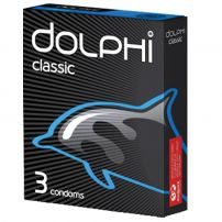DOLPHI Презервативи classic, 3 бр.