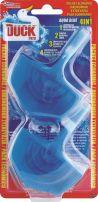 DUCK 4 IN 1 Ароматизатор за тоалетна чиния AQUA BLUE, 40 гр.