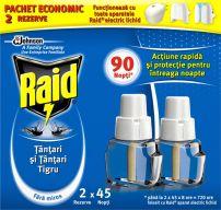 RAID Двоен електрически пълнител, 2*27 мл.