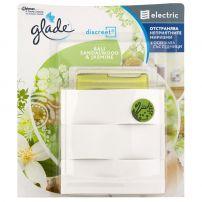 GLADE DISCREET Електрически ароматизатор за въздух дозатор BALI SANDALWOOD&JASMINE, 8 гр.