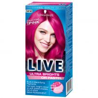 LIVE ULTRA BRIGHTS Боя за коса 093 Shocking pink