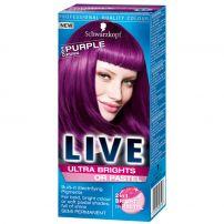 LIVE ULTRA BRIGHTS Боя за коса 094 Purple punk