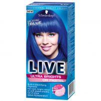 LIVE ULTRA BRIGHTS Боя за коса 095 Electric blue