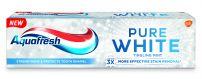 AQUAFRESH PURE WHITE MINT Паста за зъби , 75 мл.