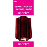 LINZICLIP MAXI Щипка за коса CARAMEL, 1 бр.