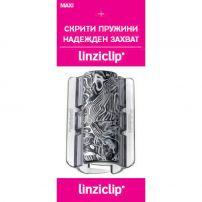 LINZICLIP MAXI Щипка за коса ART SILVER, 1 бр.