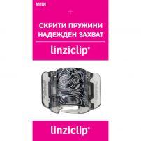 LINZICLIP MIDI Щипка за коса ART SILVER, 1 бр.
