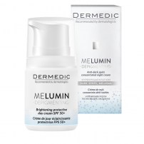 DERMEDIC MELUMIN Изсветляващ защитен дневен крем SPF 50+, 55 гр