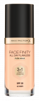 MAX FACTOR FACEFINITY 3IN1 Фон дьо тен, 30мл.
