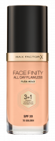 MAX FACTOR FACEFINITY 3IN1 Фон дьо тен 70, 30мл.