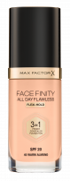 MAX FACTOR FACEFINITY 3IN1 Фон дьо тен 45, 30мл.