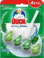 DUCK ACTIVE CLEAN Тоалетно блокче бор, 38,6 гр.
