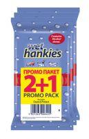 HANKIES CLEAN Мокри кърпи 2+1, 15 бр.