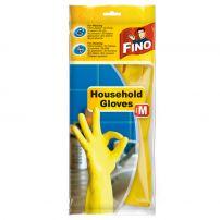 FINOHOUSEHOLD GLOVES Домакински ръкавици размер M, 1 чифт