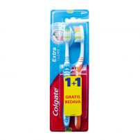 COLGATE EXTRA CLEAN Четка за зъби, 1+1бр