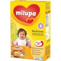 MILUPA Млечна каша бисквитена над 8 месеца, 250 гр