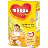 MILUPA Млечна каша старт ориз и банан, 250 гр