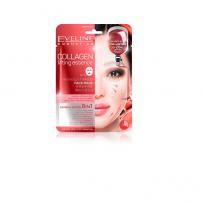 EVELINE SHEETS KOREAN Маска за лице с колаген, 20 мл.
