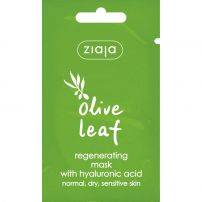 ZIAJA Регенерираща маска за лице с маслинов лист, 7 мл
