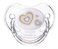 CANPOL BABIES SILICONE SOOTHER 0-6m Залъгалка с анатомичен биберон NEWBORN BABY, 1 бр.