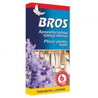 BROS Ароматизатор - закачалка против молци LAVENDER, 1 бр.