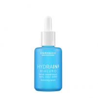 DERMEDIC HYDRAIN3 HIALURO Хидратиращ серум за лице, шия и деколте, 30 мл.
