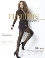 INNAMORE OTTIMA Ежедневен чорапогащник със стяащ ефект, 20 DEN черно 2