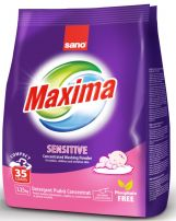 SANO MAXIMA Прах за пране sensitive, 1.25 кг.