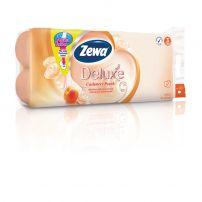 ZEWA DELUXE AQUA TUBE Тоалетна хартия 3 пласта CASHMERE PEACH, 10 бр.