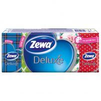 ZEWA DELUXE Носни кърпи цветни 3 пласта, 10 бр.