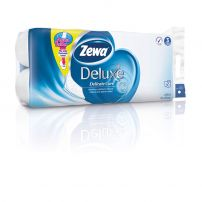 ZEWA DELUXE AQUA TUBE Тоалетна хартия 3 пласта DELICATE CARE, 10 бр.