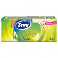 ZEWA SOFTIS GARDEN PARTY Носни кърпи 4 пласта, 1 пакет
