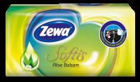 ZEWA SOFTIS ALOE BALSAM Носни кърпи пакет 4 пласта