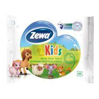 ZEWA KIDS Влажна тоалетна хартия, 42 бр.