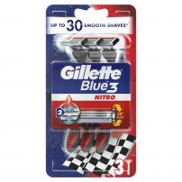 GILLETTE BLUE 3 PRIDE Еднократна самобръсначка, 3 бр.