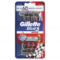 GILLETTE BLUE 3 PRIDE Еднократна самобръсначка, 6 бр.