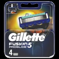 GILLETTE FUSION PROGLIDE Ножчета за бръснене, 4 бр.
